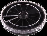 Irisk Каруселька для украшений. 12 ячеек, цвет черный