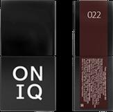 ONIQ Гель-лак для ногтей PANTONE 022, цвет Bitter Chocolate OGP-022