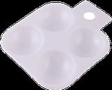 Irisk Палитра для краски прямоугольная, 4 ячейки