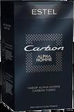 Estel Professional Alpha Homme Carbon Набор (шампунь, массаж-гель для кожи головы)