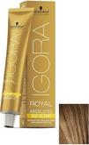 Schwarzkopf Igora Royal Absolutes Age Blend 7-560 Средний русый золотистый шоколадный 60 мл.
