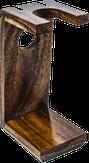 Metzger Стойка для бритья SS-12489 (Rosewood)