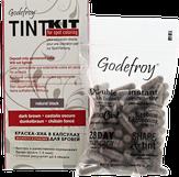 Godefroy Краска-хна в капсулах для бровей, цвет черный, проф набор (80 капсул)