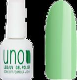 UNO Гель-лак 156 Салатовый - Pale Green, 12 мл.