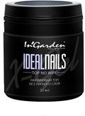 In Garden Ideal Nails Топ каучуковый без липкого слоя Top No Wipe 30 мл.
