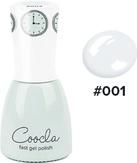 COOCLA Гель-лак 3 в1 № 001 White