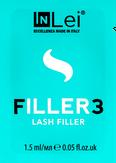 """InLei Филлер для ресниц """"Filler 3"""" саше 1,5 мл."""