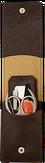 Mertz A8887RF Набор маникюрный 4 пр.   зеркало
