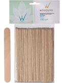 "Italwax Шпатели деревянные ""Норма"" 1,8x15 см. 100 шт."