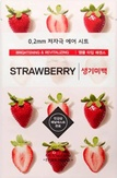 Etude House Therapy Air Mask Strawberry Тканевая маска с экстрактом клубники