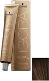 Schwarzkopf Igora Royal Absolutes 4-50 Средний коричневый золотистый натуральный 60 мл.