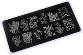 ONIQ Пластина для стемпинга Echo: Flora 2