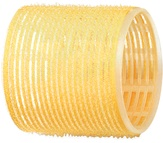 Dewal Бигуди-липучки, желтые 65 мм. 6 шт. R-VTR17