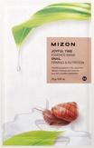 Mizon Joyful Time Essence Mask Snail Тканевая маска для лица с экстрактом улиточного муцина 25 мл