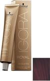 Schwarzkopf Igora Royal Absolutes 4-90 Средний коричневый фиолетовый натуральный 60 мл.