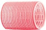 Dewal Бигуди-липучки, розовые 44 мм. 12 шт. R-VTR2