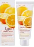 3W Clinic Moisturizing Lemon Hand Cream Увлажняющий крем для рук с экстрактом лимона