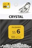 MILV Стразы Crystal 6 50 шт