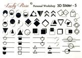 Lucky Rose Слайдер-дизайн 3D Slider-5