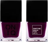 ONIQ Лак для ногтей с эффектом геля PANTONE Magenta Purple ONP-312