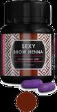 Sexy Brow Henna Хна для бровей 30 капсул, цвет классический коричневый