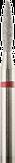 Владмива Фреза алмазная пламя, D1,6 мм. красная, мягкая зернистость 806.243.514.016