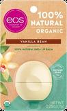 Eos Organic Vanilla Bean Бальзам для губ с ароматом ванили (на картонной подложке)