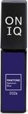 ONIQ Гель-лак для ногтей PANTONE 032s, цвет Spectrum blue OGP-032s