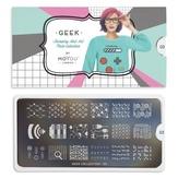 MoYou London Пластина для стемпинга Geek 03