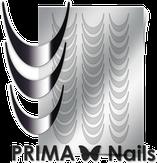 Prima Nails Металлизированные наклейки CL-002, Серебро