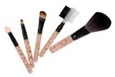 Irisk Набор макияжных кистей с цветными ручками 5 предметов