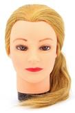 Dewal Голова учебная натуральные волосы, цвет блонд 45-50 см.