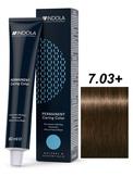 Indola Natural&Essentials 7.03 Крем-краска Средний русый натуральный золотистый 60мл