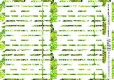 BPW Style Наклейки на типсы тропический, nt5