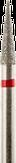 Владмива Фреза алмазная конус, D2,5 мм. красная, мягкая зернистость 806.166.514.025