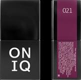 ONIQ Гель-лак для ногтей PANTONE 021, цвет Sangria OGP-021