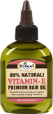 Difeel Natural Vitamin-E Premium Hair Oil Масло для волос премиальное с витамином Е 99% 75 мл