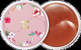 JayJun Roselle Tea Eye Gel Patch Гидрогелевые патчи с цветами гибискуса 60 шт.