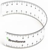 BrowXenna Линейка для бровей
