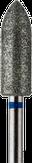 Владмива Фреза алмазная цилиндр заостренный, D5,0 мм. синяя, средняя зернистость 806.274.524.050
