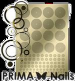 Prima Nails Металлизированные наклейки GM-02, Золото