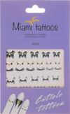 "Miami Tattoos Флэш тату для пальцев и ногтей ""Rock"""