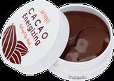 Petitfee Разглаживающие гидрогелевые патчи для области вокруг глаз с экстрактом какао, 60 шт