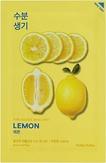Holika Holika Pure Essence Mask Sheet Lemon Тканевая маска тонизирующая с экстрактом лимона