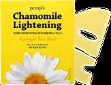 Petitfee Chamomile Lightening Hydrogel Mask Успокаивающая гидрогелевая маска с экстрактом ромашки