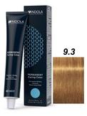 Indola Natural&Essentials 9.3 Крем-краска Блондин золотистый 60мл