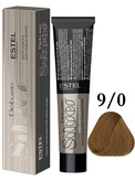 Estel Professional De Luxe Silver Стойкая крем-краска для седых волос 9/0, 60 мл.