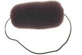 Dewal Валик для прически, сетка с резинкой, коричневый 12 см. HO-5113 Brown