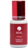 Novel Клей для наращивания ресниц 0,5sec Double Fix Adhesive 5 мл