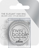 Invisibobble SLIM Crystal Clear Резинка-браслет для волос (с подвесом)